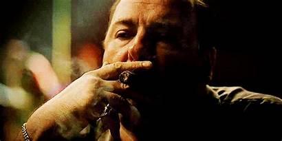 Smoking Cigar Tony Soprano James Gandolfini Sopranos