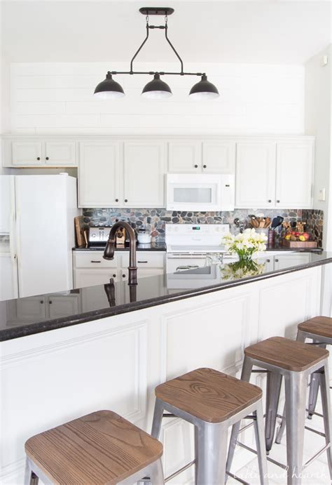 rustic grey kitchen cabinets rustic gray farmhouse kitchen reveal t h kitchen 4977