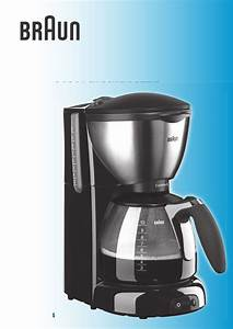 Braun Coffeemaker Kf 560 User Guide