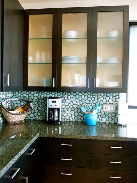 frosted glass doors for kitchen cabinets home tour manhattan chic homejelly 8289