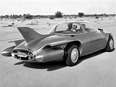Strange Concept Cars  1950 Oldsmobile Rocket Car Bubble