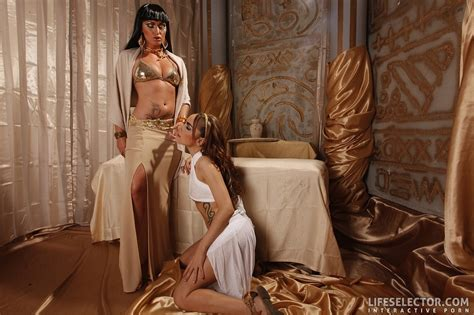 A Pair Of Lovely Chicks In Egyptian Outfits Xxx Dessert Picture 14