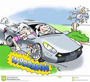 Comment Atténuer Le Bruit Des Voitures : voiture lectrique avec le bruit illustration stock image 58399910 ~ Medecine-chirurgie-esthetiques.com Avis de Voitures