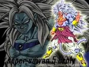 super saiyan broly 1 to 10 - YouTube