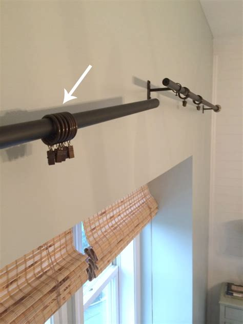 how to hang a curtain rod and black decker drill giveaway