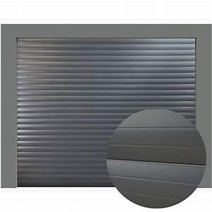 Porte De Garage Gris Anthracite : porte de garage enroulable 240 x 200 couleur ral 7016 porte enroulable ~ Melissatoandfro.com Idées de Décoration