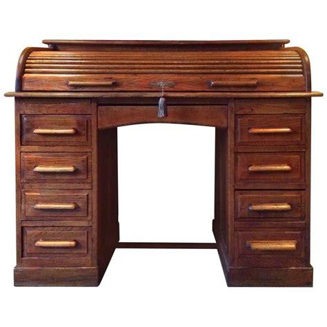 solid oak roll top desk antique roll top desk pedestal writing desk solid oak