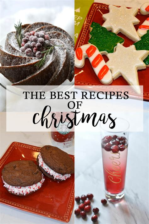 the best recipes of christmas a blonde s moment