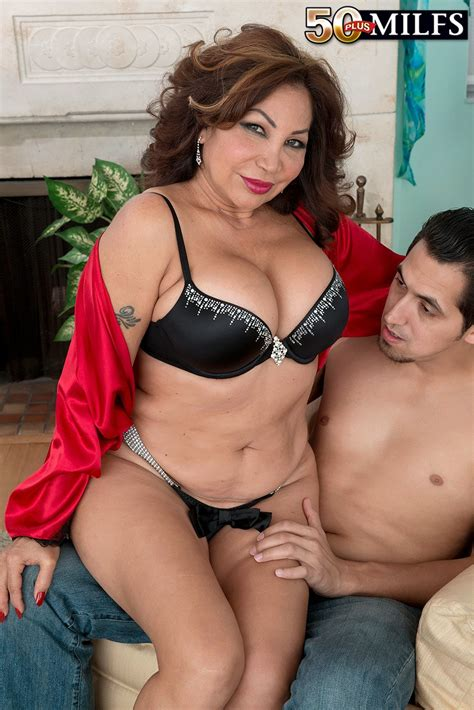 Ass Fucking Cum Guzzling Latina Milf Sandra Martines