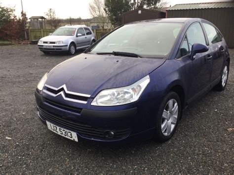 Citroen C4 1.4 Sx Mot Full Year 20/1/18 2005