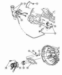 Dodge Ram 2500 Cylinder  Clutch Slave  Hydraulic  Controls