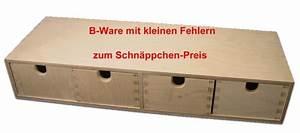 Wandregal Mit Schublade Holz : b ware stabiles schubladen regal wandregal mit 4 schubladen holz unbehandelt ebay ~ Bigdaddyawards.com Haus und Dekorationen