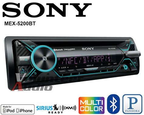 Usb For Car Stereo by Sony Car Stereo Radio Bluetooth Cd Player Iphone Pandora