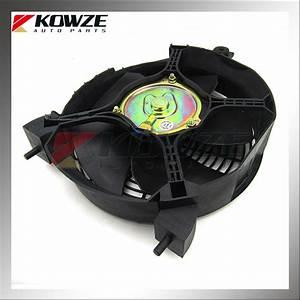Air Condition Cooler Condenser Fan For Mitsubishi Pajero