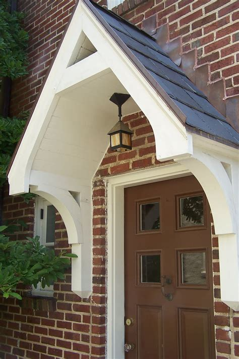 Entry Door Awning by Porticoes And Awnings