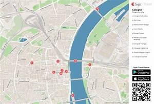 Google Maps Köln : cologne printable tourist map sygic travel ~ Watch28wear.com Haus und Dekorationen