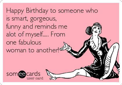 Happy Birthday Funny Woman