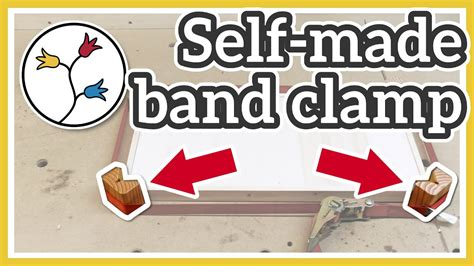 simple band clamp cheap  simple diy corner clamps youtube