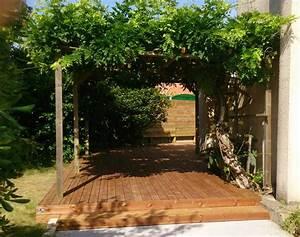 Tixier Paysagiste Lempdes : terrasse bois thermopin ~ Premium-room.com Idées de Décoration