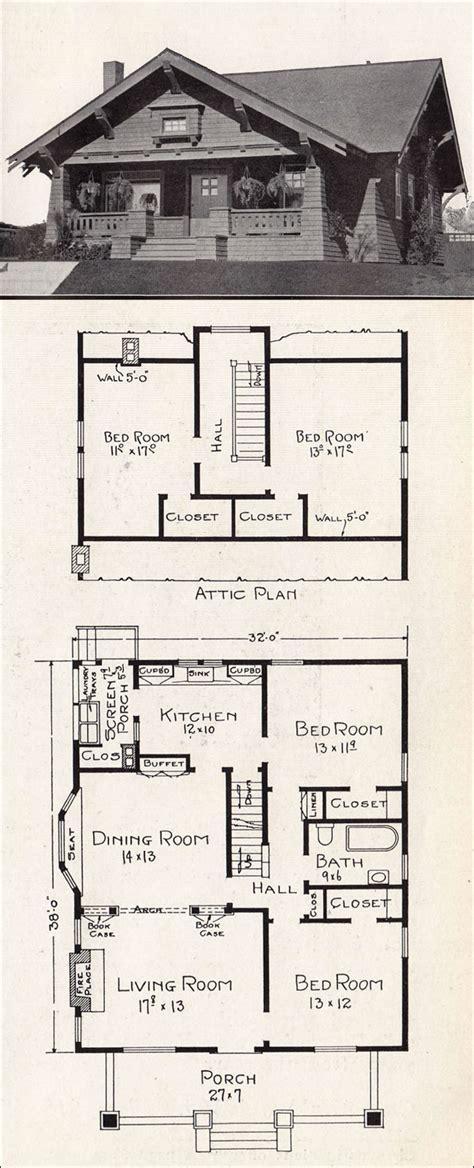 Adair Homes Floor Plans 1920 by 1920 Craftsman Bungalow Floor Plans 1918 Craftsman