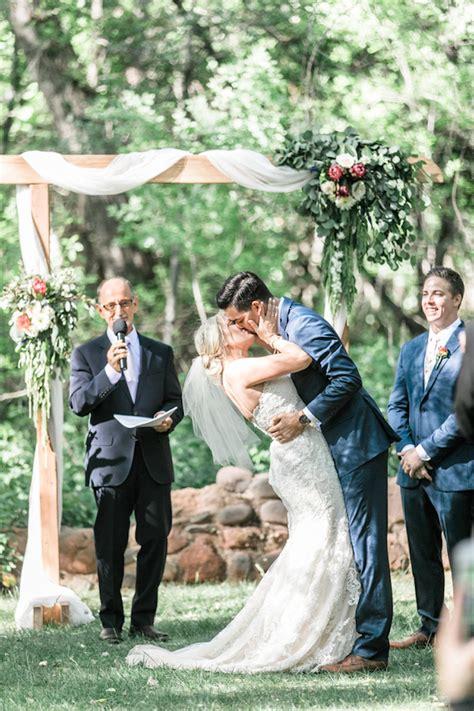 rustic romantic eucalyptus themed garden wedding ryann