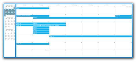 css monthly event calendar daypilot documentation
