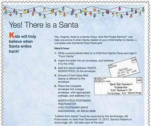 santa claus address to send letters 2015 from north pole With how do i get a letter from santa