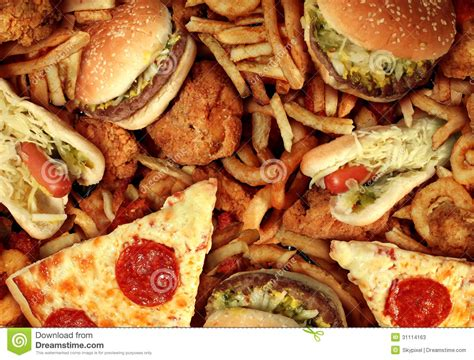 cuisine concept fast food stock photos image 31114163