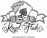 Poker Template Flush Royal Templates Please sketch template