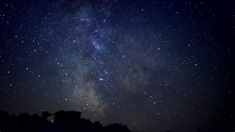Long Exposure Milky Way Galaxy Time Lapse Youtube
