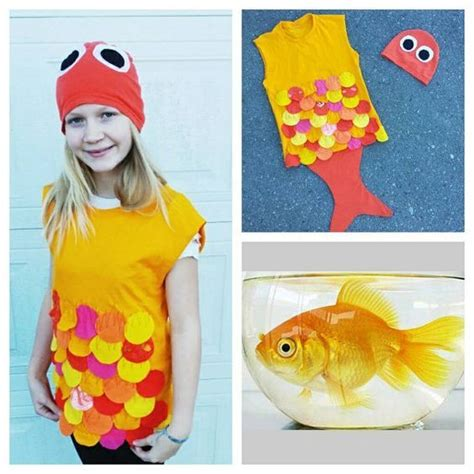 Upcycled Steampunk Clothing Gold Fish Costume Upcycled