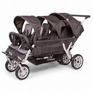 Kinderwagen Für 2 Kinder : childwheels 6 sitzer kinderwagen six seater 2 f r kitas und tagesm tter inkl regenschutz ~ Yasmunasinghe.com Haus und Dekorationen