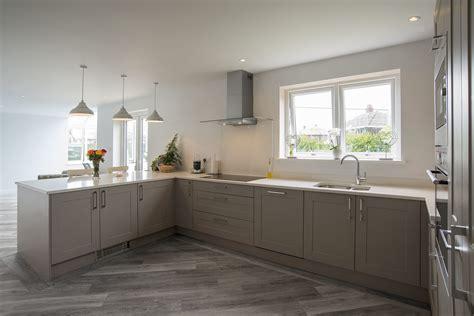 modern kitchen island design shaker kitchen shaker grey panorama kitchens