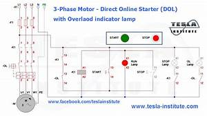 3-phase Motor - Direct Online Starter  Dol