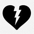 Broken heart Symbol Computer Icons - heart emoji png ...
