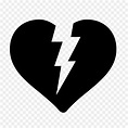 Broken heart Symbol Computer Icons - heart emoji 1600*1600 ...