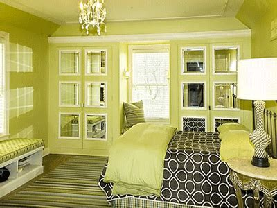 Bedroom Decorating Ideas Yellow And Green by Bedroom Decorating Ideas Green Paint And Wallpaper