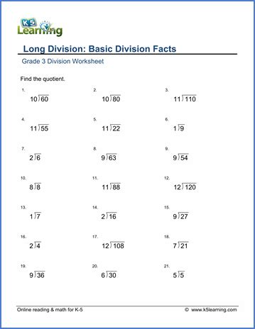 division worksheet grade 3 pdf rcnschool