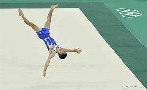 British Whitlock wins floor exercise final at Rio Olympics ...