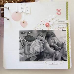 Album Photo Naissance Fille : mini album b b nouveaut s f e du scrap blog passion et loisirs ~ Dallasstarsshop.com Idées de Décoration