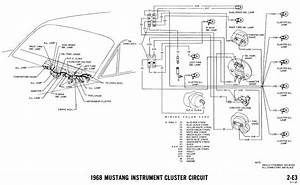 1968 mustang wiring diagrams and vacuum schematics With find the quotfanquot and the color wires associated with it in the diagram