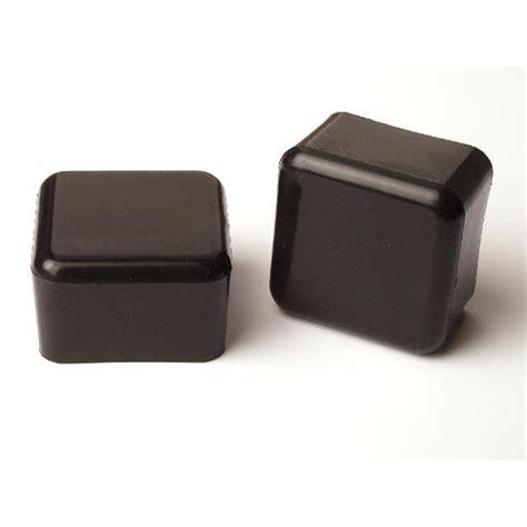 tic 25mm square black plastic external chair tip 4