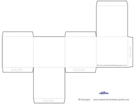 printable box template 9 best images of printable box templates printable paper box templates free printable favor