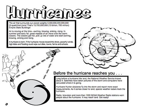 here s a booklet for from the national weather