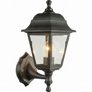 Lanterne Solaire Exterieur : applique ext rieur lanterne luca noire en pvc keria ~ Premium-room.com Idées de Décoration