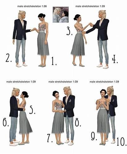 Aklira Posebox Enjoy Please Poses Couple Sims