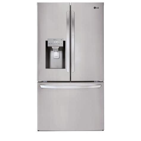 Lg Electronics 277 Cu Ft French Door Smart Refrigerator