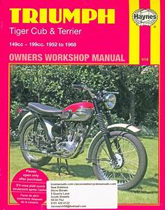 Triumph Cub Haynes Manual Covers Tiger Cub And Terrier