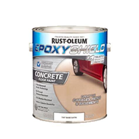 rustoleum garage floor coating kit msds epoxyshield 174 garage floor coating tint base kit product page