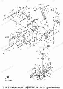 Yamaha Snowmobile 2016 Oem Parts Diagram For Ski